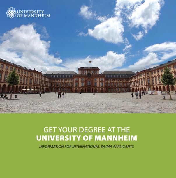 International Degree-Seeking Students | University of Mannheim
